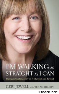 Geri Jewell book I'm Walking As Straight As I Can