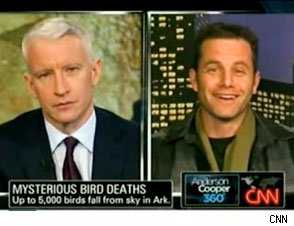 Kirk Cameron to Anderson Cooper on Arkansas Bird Death: