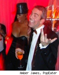 NeNe Leakes, Andy Cohen at Bravo New Years Party