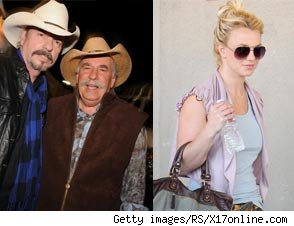 Bellamy Brothers, Britney Spears
