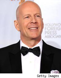 Bruce Willis aka Ashton Kutcher's Dad