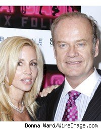 Camille Grammer and Kelsey Grammer
