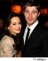 Leighton Meester and Garrett Hedlund