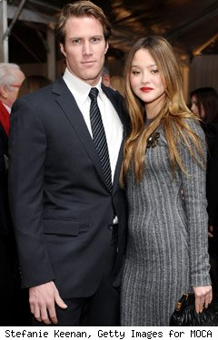 James Bailey and Devon Aoki