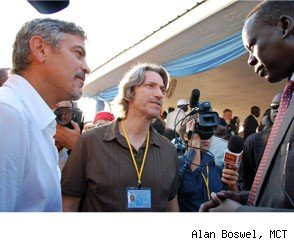 George Clooney Catches Malaria in Sudan