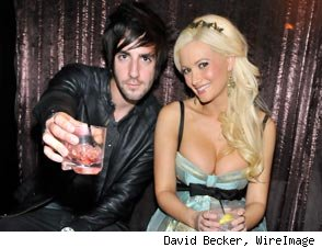 Jack Baraket and Holly Madison