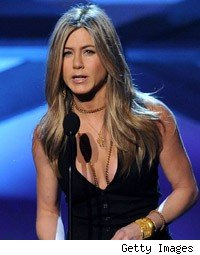 Jennifer Aniston Gives a Slurry Speech at the People's Choice Awards