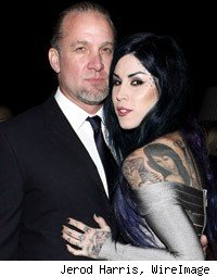 Kat Von D Jesse James Engaged