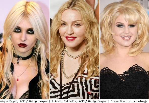 Taylor Momsen, Madonna and Kelly Osbourne