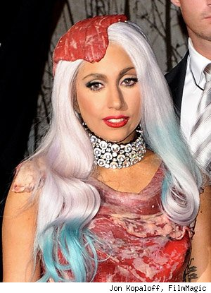 Lady Gaga known as much for her flamboyant outfits and personality as her