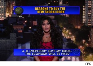 Snooki on 'Late Show'