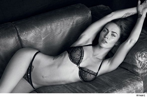 Megan Fox Armani