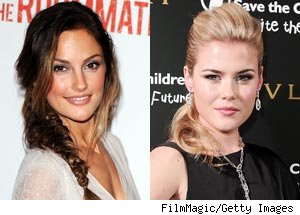 Minka Kelly and Rachael Taylor
