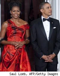 First Lady Michelle Obama, President Barack Obama