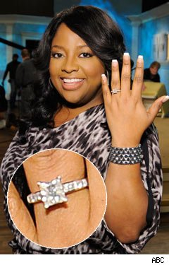 Sherri Shepherd Engagement Ring