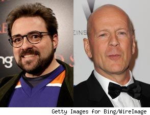 Kevin Smith, Bruce Willis