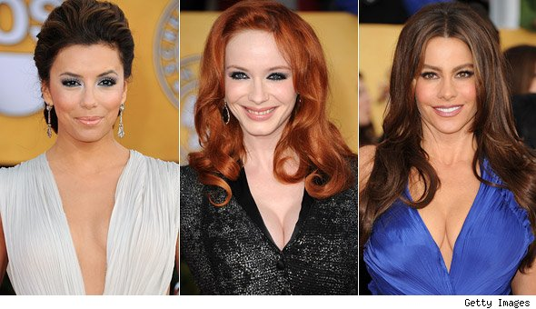 Eva Longoria, Christina Hendricks and Sofia Vergara