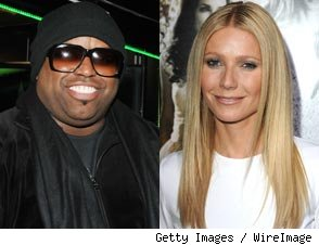 Cee Lo Green and Gwyneth Paltrow