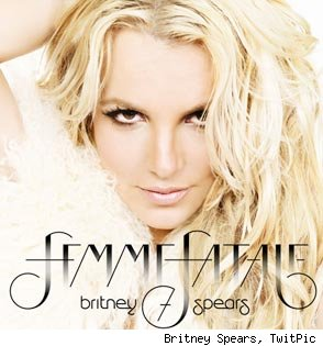 Britney Spears 'Femme Fatale' album cover