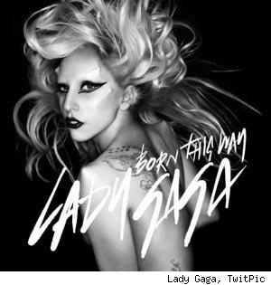 Lady Gaga Born The Way Cover Art