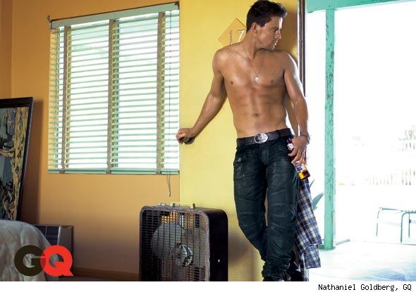 Channing Tatum drunk GQ