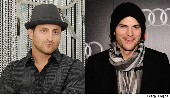 Jesse Csincsak and Ashton Kutcher