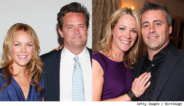 Andrea Anders Matt Le Blanc Matthew Perry