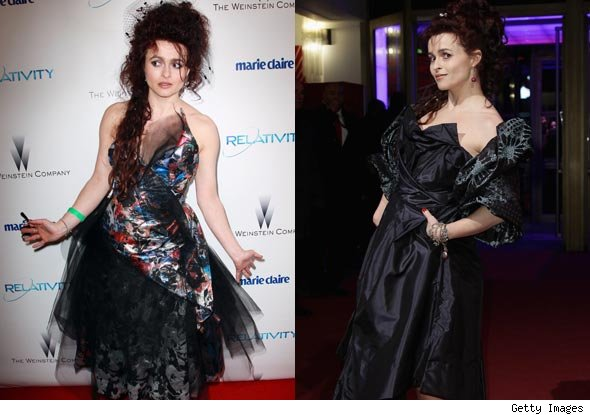 Helena Bonham Carter Award Show Fashion. Does she need an Oscars stylist?