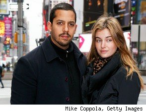 David Blaine and Alizee Guinochet