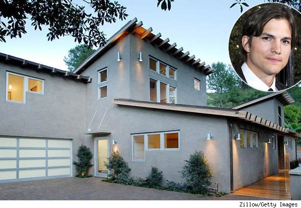Ashton Kutcher Bachelor Pad