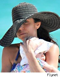 bethenny frankel beach