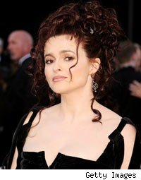 Helena Bonham Carter Oscars 2011 Red Carpet