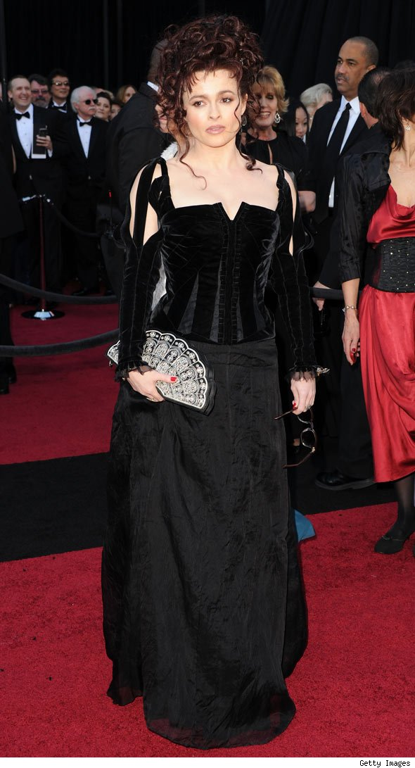 Helena Bonham Carter Oscars 2011 Red Carpet Dress