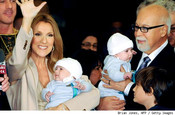 Celine Dion and Family