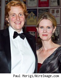 Cynthia Nixon and Partner Christine Marinoni Welcome Baby
