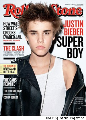 Justin Bieber Rolling Stone sex
