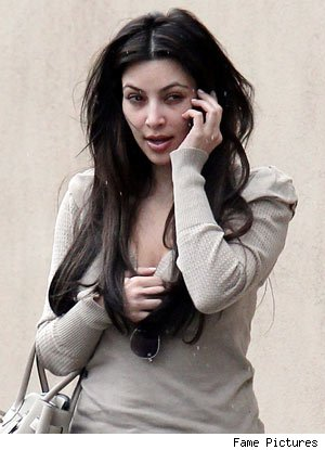 Kim Kardashian Still a Stunner Without Makeup