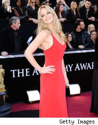 Jennifer Lawrence Oscars 2011 Red Carpet