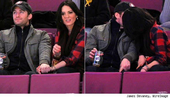 Matthew Morrison and Olivia Munn