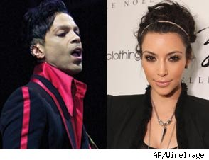 Prince, Kim Kardashian