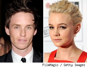 Eddie Redmayne and Carey Mulligan