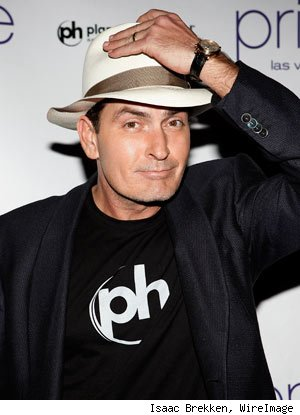 Charlie Sheen AA Charlie Sheen is apparently at war with the world.