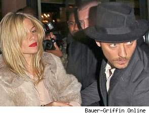 Jude Law Sienna Miller split