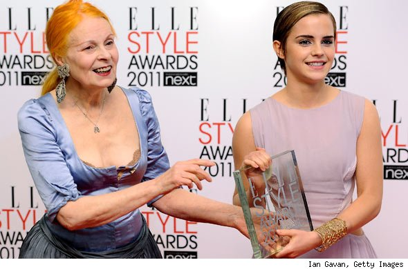 Vivienne Westwood and Emma Watson