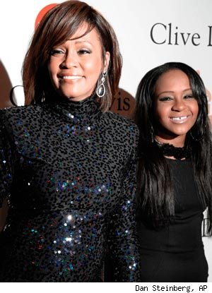 Whitney Houston's 18-year-old daughter Bobbi Kristina Brown may be in