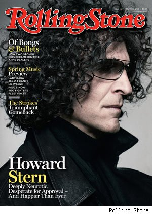 Howard Stern Rolling Stone Cover and Interview
