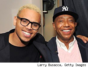 chris brown russell simmons