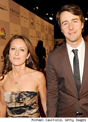 Edward Norton engaged