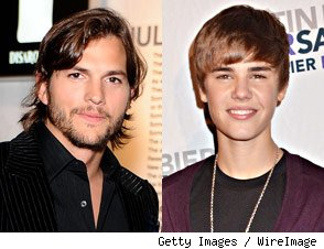 justin bieber ashton kutcher movie