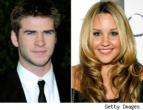 Liam Hemsworth and Amanda Bynes
